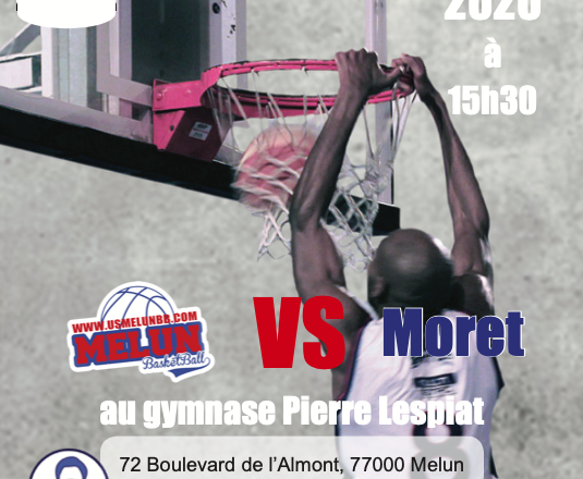 US Melun Basket vs SEPA Moret